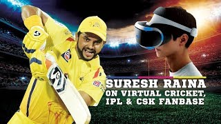 Suresh Raina speaks about iB Cricket | CSK | IPL and more
