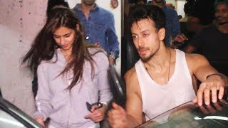 Tiger Shroff And Disha Patani Spotted After Dance Rehearsal In Andheri