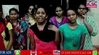 OSMANIA UNIVERSITY HOSTEL GIRLS PROTEST AGAINST HOSTEL HYGIENIC CONDITIONS