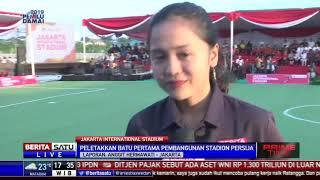 Kick Off Pembangunan Stadion Baru Persija Jakarta