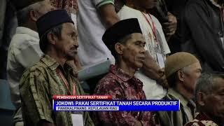Jokowi: Hati-hati Agunkan Sertifikat Tanah