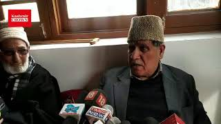 NC leader Mohammad Akbar Lone's reaction on congress and NC alliance
