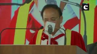 VP Naidu attends first graduation ceremony of an engineering college in Coimbatore