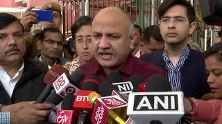 AAP delegation led by Senior Leader's meet EC against Delhi Police disrupting party's campaign
