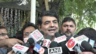 RPN Singh addresses media after meeting with EC