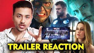 Avengers: Endgame Trailer (2019) | REACTION | REVIEW | By Rahul Bhoj