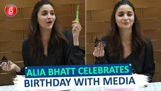 Alia Bhatt Celebrates Her 26th Birthday With Media