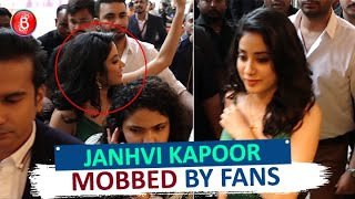 Janhvi Kapoor MOBBED By Fans At Tommy Hilfiger Event