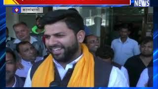 भाईचारा बिगाडऩे की राजनीति कर रही है भाजपा:दिग्विजय चौटाला || ANV NEWS KALANWALI - HARYANA