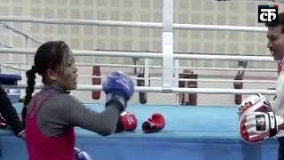 बॉक्सिंग चैंपियन मैरीकॉम से दो-दो हाथ करने रिंग में उतरे खेल मंत्री और.
