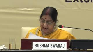 Address by EAM at World Sanskrit Award function organised by ICCR (March 07, 2019)