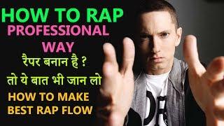 HOWTORAP | Best Rap Flow & Lines in HINDI with Example |Guru Bhai Rap