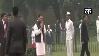इंदिरा गांधी जयंती- राहुल, सोनिया गांधी समेत कांग्रेस नेताओं ने दी श्रद्धांजलि