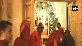 राजस्थान: वोटों की गिनती के बीच भगवान के दरबार पहुंचीं सीएम वसुंधरा राजे