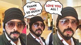 Sreesanth LIVE VIDEO After Supreme Court lifts Lifetime Ban   Thanks Fans