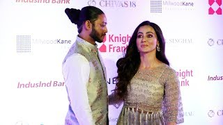 Sana Khan With Boyfriend Melvin Louis At Payal Singhal's Sanat Summer Bridal 2019 Collection Launch