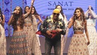 Shibani Dandekar & Monica Walk The Ramp For Designer Payal Singhal For Her Latest Collection 'Sanat'