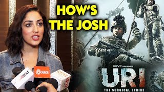 Yami Gautam Reaction On Film URI Success | HOW'S THE JOSH