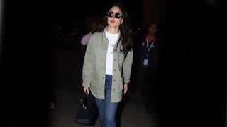 Stunning Kareena Kapoor Leaves To Malaysia Spotted At Mumbai Airport