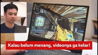 Nyobain main game di laptop 40 juta!