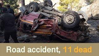 Ramban में Tata Sumo खाई में लुढ़की, हादसे में 11 की मौत, 3 injured