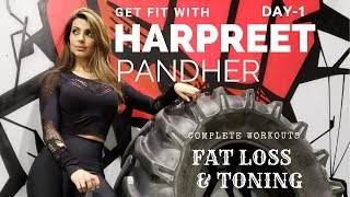 GET FIT with Harpreet Pandher! Day-1 (Hindi / Punjabi)