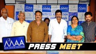 MAA Press Meet | Naresh | Rajasekhar - 2019 Latest Movie Updates
