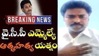 Puthalapattu YSRCP MLA Sunil Kumar Suicidé Attempt | YS Jagan Mohan Reddy | Top Telugu TV