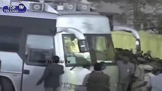 AP CM Narachandrababu Naidu Bus Entry @ from public meeting at Bhimadolu | Top Telugu News