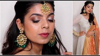 Indian Wedding Guest Makeup Tutorial | शादी में मेकअप करने का तरीका  |2019