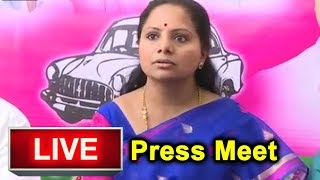 TRS MP K Kavitha Press Meet LIVE | CM KCR | MP Elections 2019 | Top Telugu TV