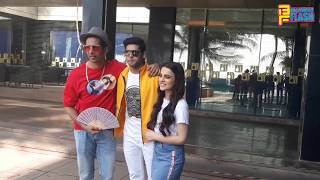 Mard Ko Dard Nahi Hota Team Radhika Madan , Gulshan Devahiya & Abhimanyu Spotted At Promotion Today