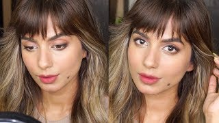MY SIGNATURE MAKEUP LOOK UNDER 10 MINS / NO FOUNDATION!