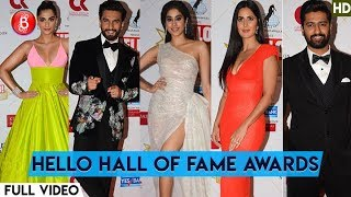 HELLO HALL OF FAME Awards 2019 | Ranveer Singh  Katrina Kaif , Sonam Kapoor | Full Video