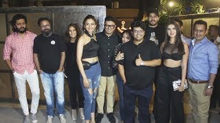 Marjavaan Movie Wrap Up Party | Sidharth Malhotra Tara Sutaria, Rakul Preet