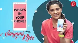 'What's In Your Phone: Mirzya Star Saiyami Kher Reveals Her Deep Dark Secrets