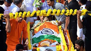 Goa- Manohar Parrikar cremated with full state honours in Panaji; thousands bid adieu