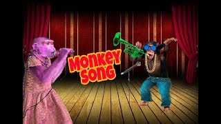 MONKEY SONG FUNNY VIDEO  || MILLION TO BILLION ||  - Viral Video SOng 2018 - 2019