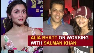 Alia Bhatt SPEAKS On Working With Salman Khan In Inshallah | Zee Cine Awards 2019