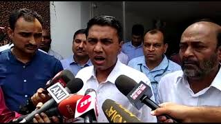 Newly Appointed Chief Minister Pramod Sawant Pays Condolence Visit To The Family Of Manohar Parrikar