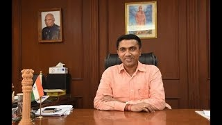 PRAMOD SAWANT ASSUMES OFFICE AS CHIEF MINSTER