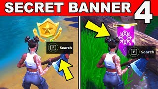 SECRET BATTLE STAR WEEK 4 SEASON 8 LOCATION Loading Screen Fortnite – WEEK 4 SECRET BANNER REPLACED