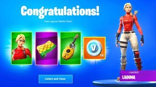 Laguna Starter Pack Free - *Free* V Bucks with Free Starter Pack Season 8 (Fortnite Battle Royale)