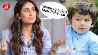 "Kareena Kapoor gives savage reply to troll who said, ""Taimur Bhookha Marr Raha Hai"""