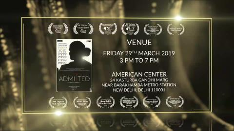 Admitted (2019) - Documentary Film Screening at American Centre, New Delhi | Award Winning Transgender LGBT Human Rights Documentary | RFE