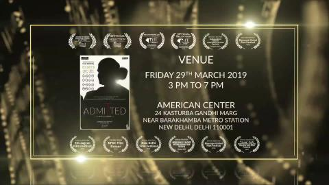 Admitted (2019) - Documentary Film Screening at American Centre, New Delhi | Award Winning Transgender LGBT Human Rights Documentary | RFE