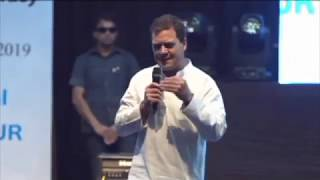 Congress President Rahul Gandhi engages in an open dialogue with students from across Manipur