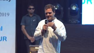 Congress President Rahul Gandhi engages in an open dialogue with students from across Manipur | HD