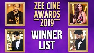 64th Vimal Elaichi Filmfare Awards 2019 | FULL WINNERS LIST