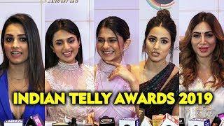 UNCUT - Indian Telly Awards 2019 | Hina Khan, Divyanka Tripathi, Anita Hassanandani, Arshi Khan
